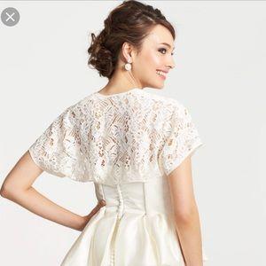 Ann Taylor Bridal Lace Bolero